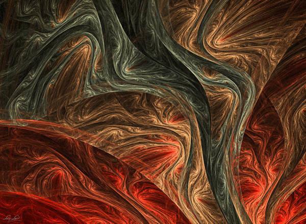 Modern Digital Art - Captivate by Lourry Legarde