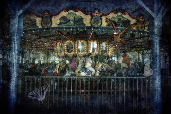 Photograph - Captive On The Carousel Of Time by Belinda Greb