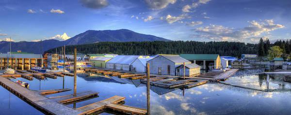 Photograph - Bayview Marina 3 by Lee Santa