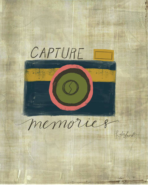 Camera Painting - Capture Memories by Katie Doucette