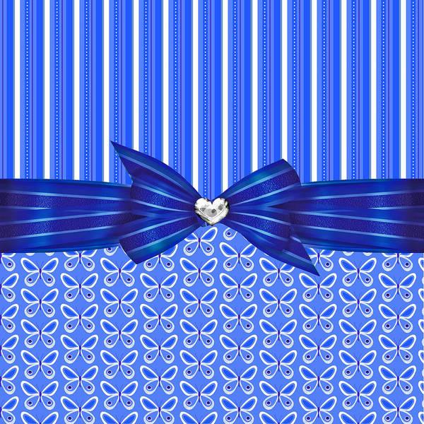 Blue Bug Digital Art - Captured Butterfly Beauty by Debra  Miller