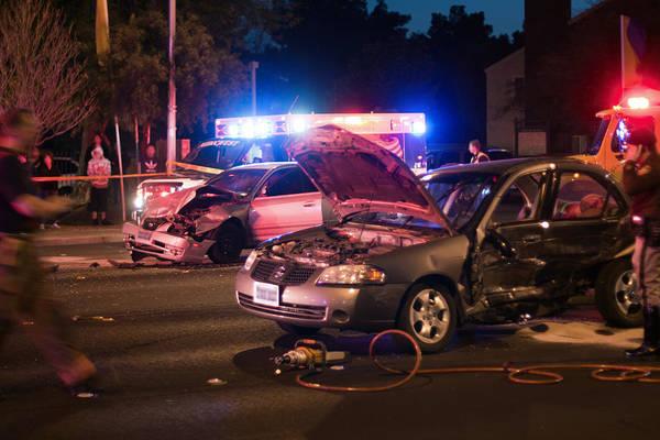 Photograph - Car Accident by Gunter Nezhoda