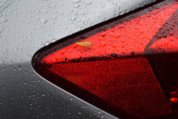 Photograph - Car After Rain by Dragan Kudjerski