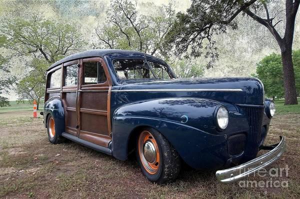 Liane Photograph - Car - Ford - Wagon - Classic by Liane Wright
