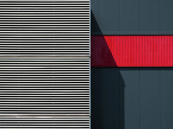 Wall Art - Photograph - Car Park. by Harry Verschelden