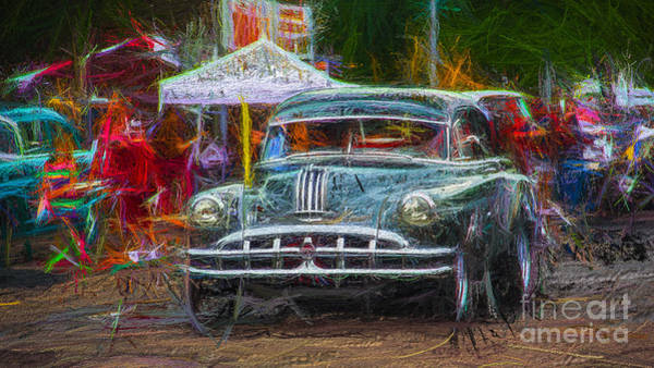 Wall Art - Photograph - Car Show Classic by Perry Webster