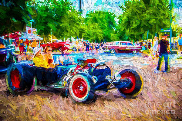 Wall Art - Photograph - Car Show Fun by Perry Webster