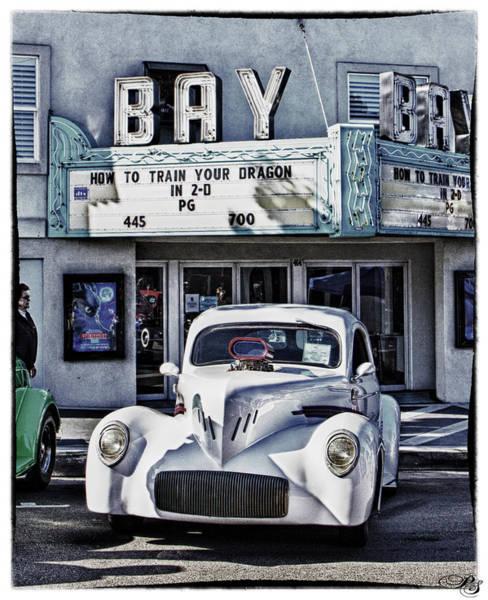 Morro Bay Digital Art - Car Show Hotrod by Patricia Stalter