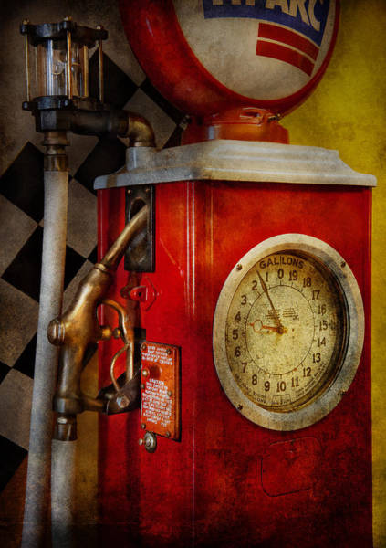 Wall Art - Photograph - Car - Station - 19 Gallons  by Mike Savad