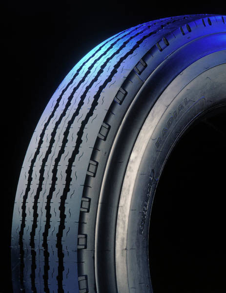 Tyre Wall Art - Photograph - Car Tyre by Ton Kinsbergen/science Photo Library
