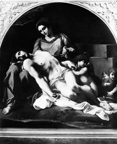 Wall Art - Painting - Caracci La Pieta by Granger