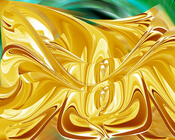 Digital Art - Caramel Flood by Roy Erickson