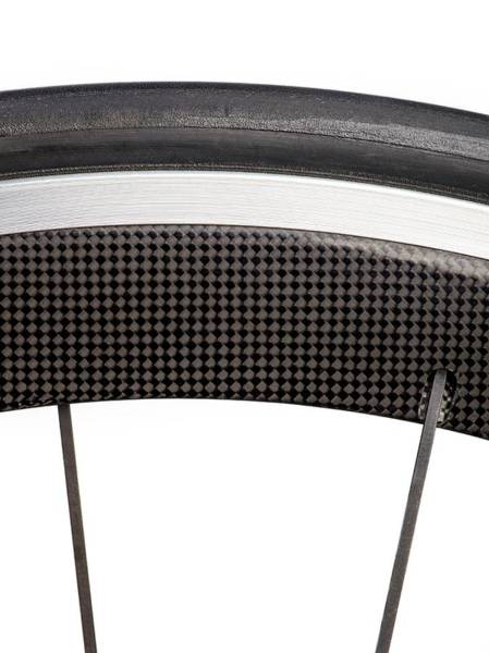 Carbon Fiber Photograph - Carbon Fibre Bicycle Wheel by Science Photo Library