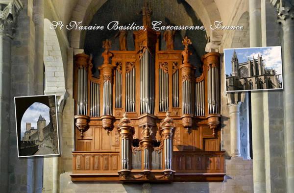 Photograph - Carcassonne Montage by Jenny Setchell
