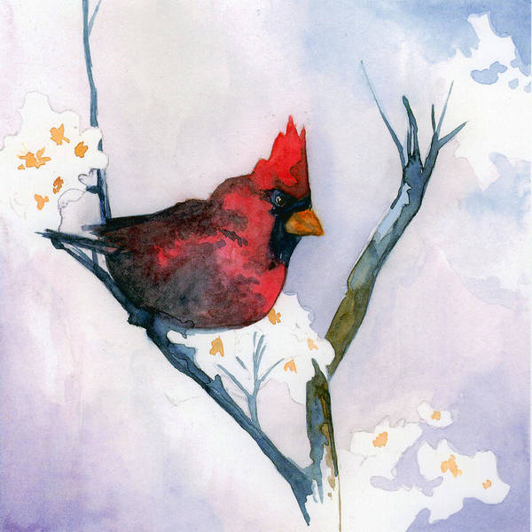 Painting - Cardinal by Sean Parnell