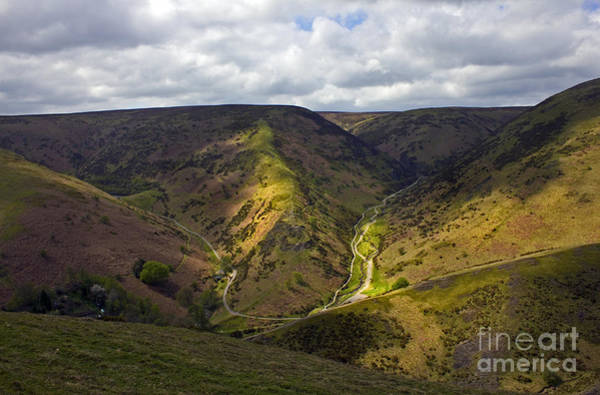 Church Stretton Wall Art - Photograph - Carding Mill Valley by Darren Burroughs