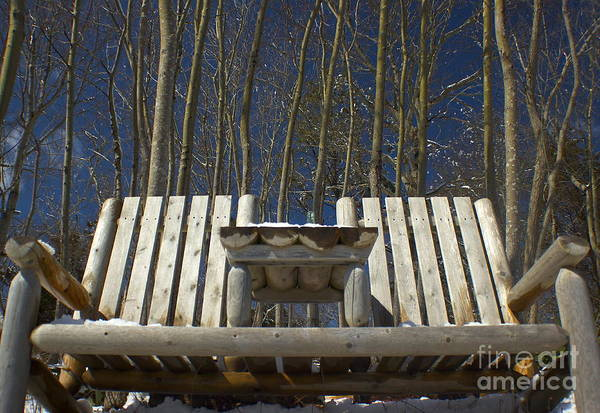 Photograph - Care For A Seat by Amazing Jules