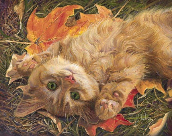 Painting - Carefree by Lucie Bilodeau