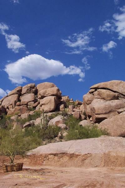 Photograph - Carefree Rocks II by R B Harper