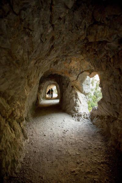 End Of The Trail Photograph - Cares Trail Cave, Picos De Europa by Jeanlouis Wertz