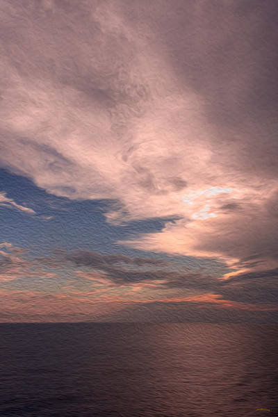 Photograph - Caribbean Clouds by John M Bailey