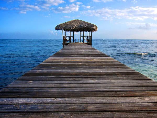 Photograph - Caribbean Dock by Mary Lee Dereske