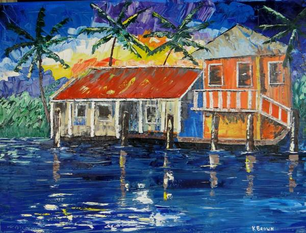 Caribbean House Art Print