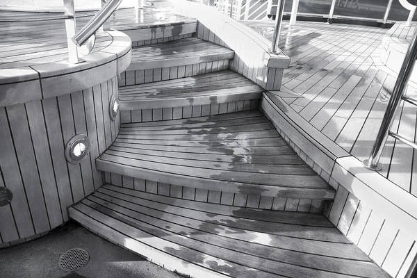 Caribbean Princess Steps Art Print