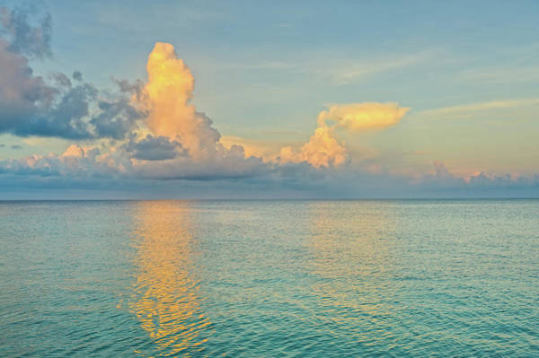Roatan Photograph - Caribbean Sea At Sunrise by Adventure photo