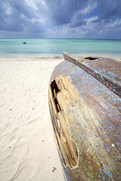 Photograph - Caribbean Shipwreck by David Letts