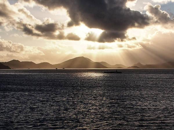 Photograph - Caribbean Sunset 1 by Karen Zuk Rosenblatt
