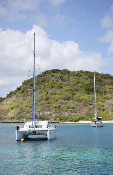 Luxury Yacht Photograph - Caribbean by Temmuzcan