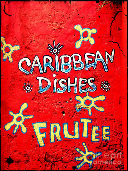 Wall Art - Photograph - Caribbean Wall Graffiti by Sophie Vigneault