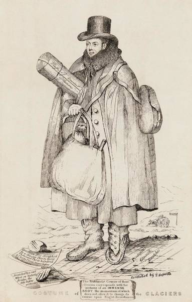 Biblical Photograph - Caricature Of William Buckland by Royal Institution Of Great Britain / Science Photo Library