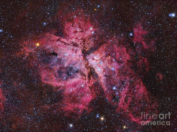 Photograph - Carina Nebula by Roberto Colombari