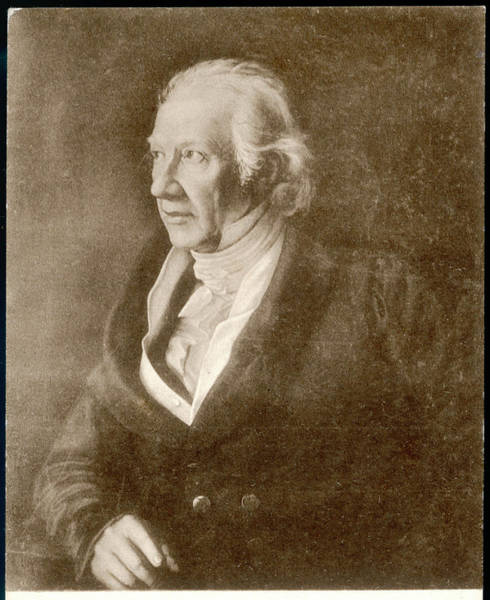 Wall Art - Drawing - Carl Friedrich Zelter  German Composer by Mary Evans Picture Library