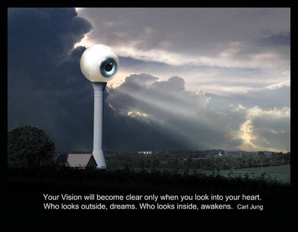 Digital Art - Carl Jung Quote by Rick Mosher