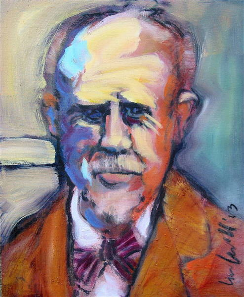 Painting - Carl Von Marr by Les Leffingwell