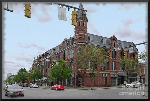 Carlisle Building -  A Chillicothe Landmark Art Print