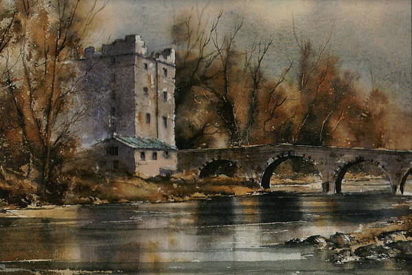 Mixed Media - Carlow Milford On The Barrow by Val Byrne