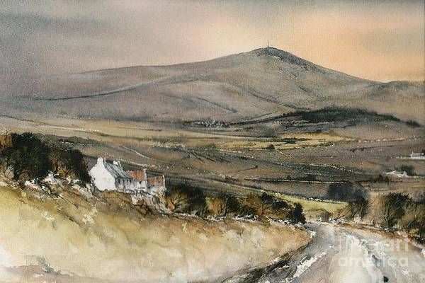 Mixed Media - Carlow Mount Leinster  by Roland Byrne