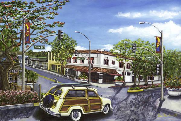 Wall Art - Painting - Carlsbad Woody by Lisa Reinhardt