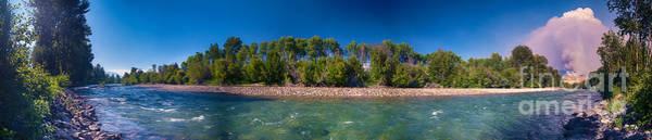 Photograph - Carlton Complex And Methow River Panorama By Omaste Witkowski  by Omaste Witkowski