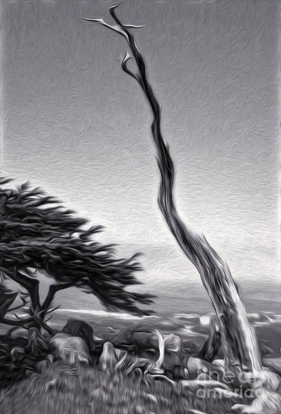 Painting - Carmel California - 05 by Gregory Dyer