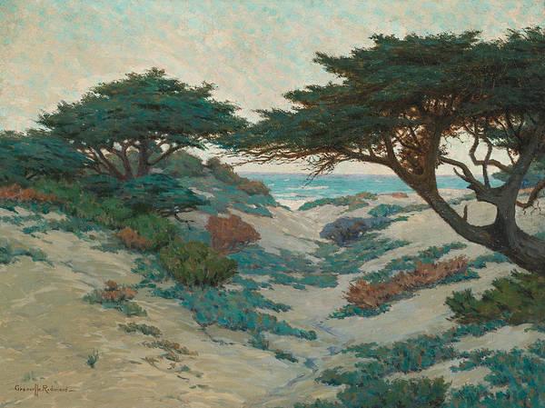 Redmond Wall Art - Painting - Carmel Coast by Granville Redmond