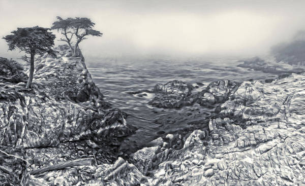 Painting - Carmel - Lone Pine - 02 by Gregory Dyer
