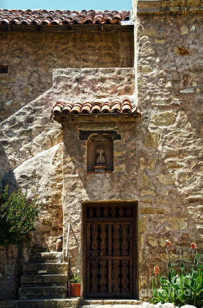Photograph - Carmel Mission Church Detail by RicardMN Photography