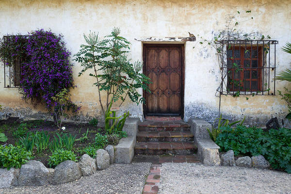 Photograph - Carmel Mission Door And Windows by Priya Ghose