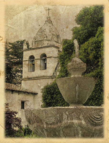 Photograph - Carmel Mission by Doug Matthews