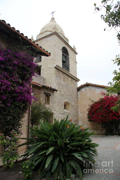 Misson Photograph - Carmel Mission Inner Yard by Christiane Schulze Art And Photography